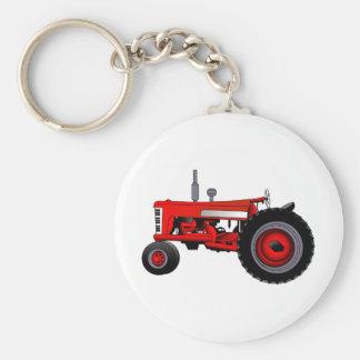 Klassischer Traktor Schlüsselanhänger