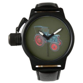 Klassischer Trecker Uhr