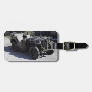 Klassischer Willys Jeep Kofferanhänger