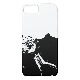 Klassischer Wolf-Telefon-Kasten iPhone 8/7 Hülle