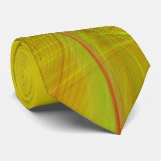 Klassisches abstraktes elegantes Rot/Yello Krawatte