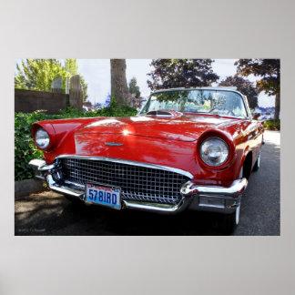 Klassisches amerikanisches Sport-Auto Plakatdrucke