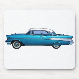 Klassisches Auto Chevy 1957 BelAire Mousepad
