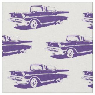 Klassisches Auto-Gewebe 1957 Chevrolets Stoff