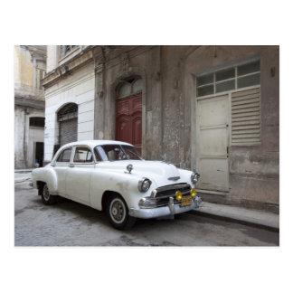 Klassisches Auto in Havana Kuba Postkarte