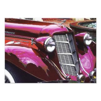 Klassisches Auto: Kastanienbraun Fotografie