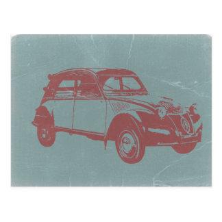 Klassisches Auto Postkarte
