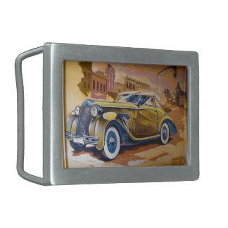 Klassisches Auto Rechteckige Gürtelschnallen
