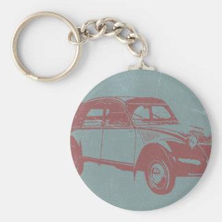Klassisches Auto Schlüsselanhänger