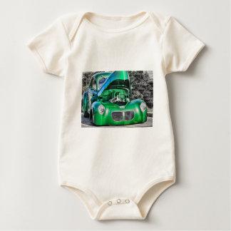 """Klassisches Auto-"" ""Vintages Auto"" ""HDR Autos"" Baby Strampler"