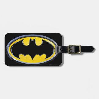 Klassisches Batman-Logo Adress Schild