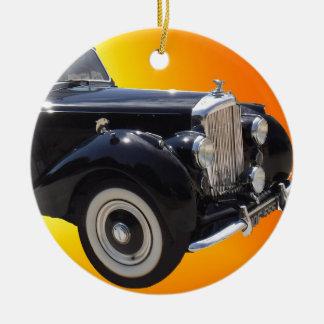 Klassisches Bentley Rundes Keramik Ornament