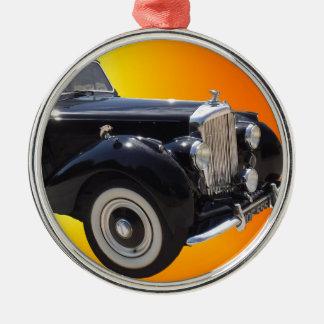 Klassisches Bentley Silbernes Ornament
