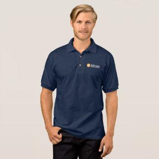 Klassisches bitcoin Logo-Shirt Polo Shirt