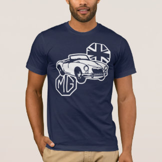 Klassisches britisches Sport-Auto MGs MGA T-Shirt