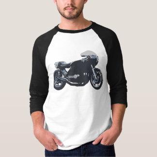 Klassisches Café-Rennläufer-Motorrad Shirts
