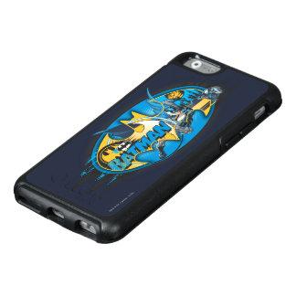 Klassisches Collagen-Logo Batman-Symbol-| OtterBox iPhone 6/6s Hülle