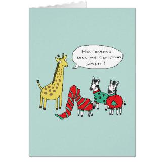 Klassisches Comic der Zebra-und Karte