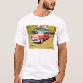 Klassisches Cruisin Auto-Chevrolet-Shirt 1957 T-Shirt