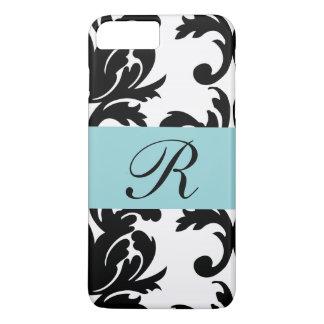 Klassisches Damast-Muster/Monogramm - Iphone 8 iPhone 8 Plus/7 Plus Hülle