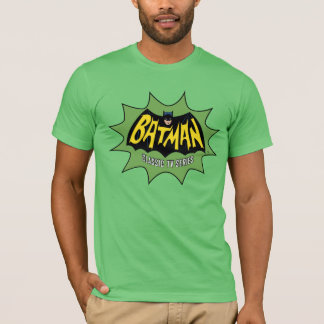 Klassisches Fernsehserie-Logo Batmans T-Shirt