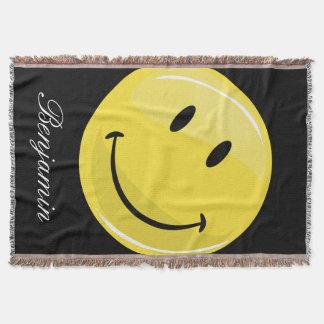 Klassisches glückliches Gesicht Decke