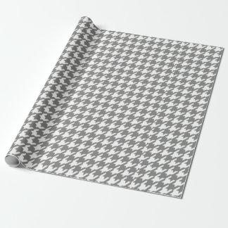 Klassisches graues und weißes geschenkpapier