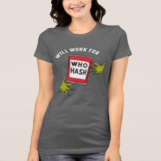 Klassisches Grinch | arbeitet für, wem Hasch T-Shirt