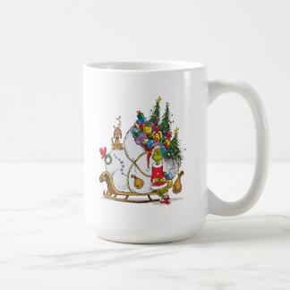 Klassisches Grinch | das Grinch u. das maximal mit Kaffeetasse