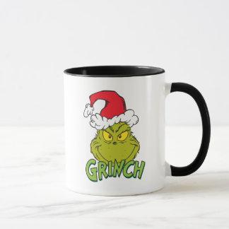 Klassisches Grinch freches oder Nizza | Tasse