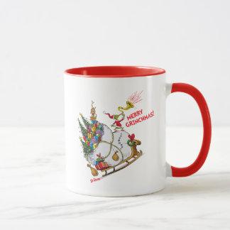 Klassisches Grinch | fröhliches Grinchmas! Tasse