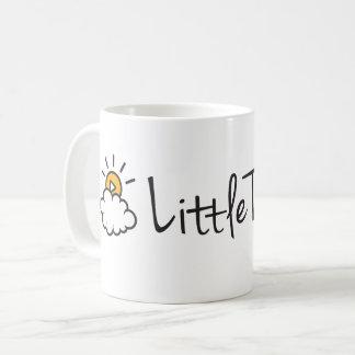 Klassisches Kaffee-Tassen-Text-Logo Kaffeetasse