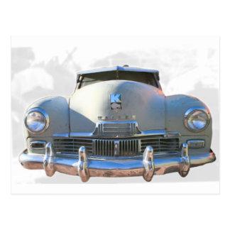 Klassisches Kaiser Auto Postkarte