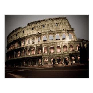 Klassisches Kolosseum Postkarte