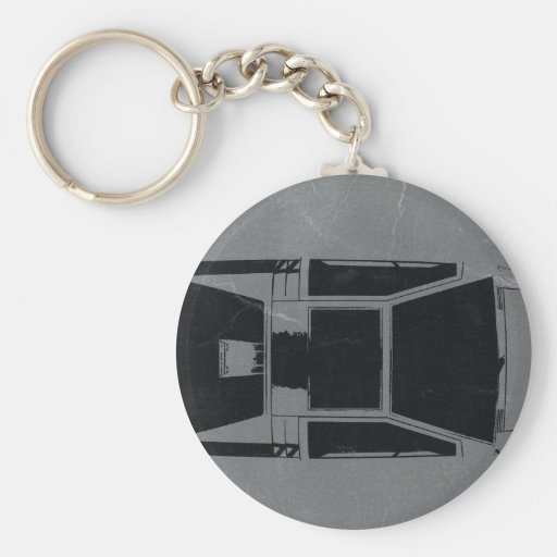Klassisches Konzept-Auto Schlüsselbänder