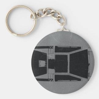Klassisches Konzept-Auto Standard Runder Schlüsselanhänger