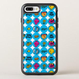 Klassisches Kreis-Muster OtterBox Symmetry iPhone 8 Plus/7 Plus Hülle