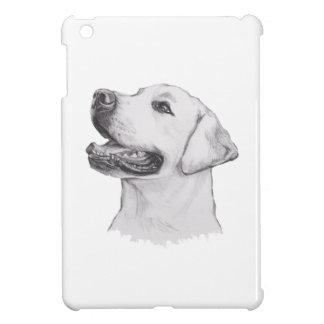 Klassisches Labrador-Retriever-Hundeprofil iPad Mini Hülle