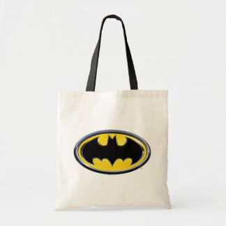 Klassisches Logo Batman-Symbol-  Budget Stoffbeutel
