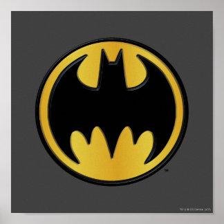 Klassisches Logo Batman-Symbol-| Poster