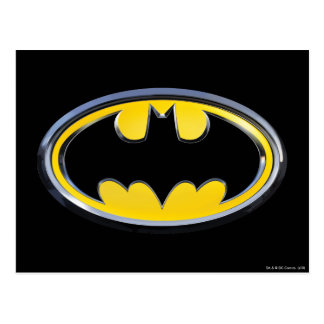 Klassisches Logo Batman-Symbol-| Postkarte
