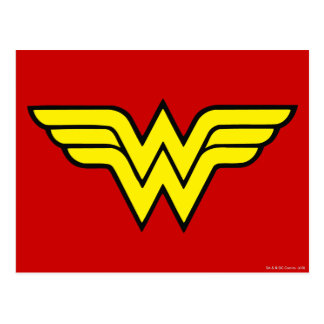 Klassisches Logo der Wunder-Frauen-| Postkarte