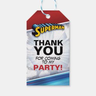 Klassisches Logo des DC-Comic-| Supermann-| Geschenkanhänger