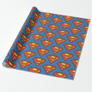 Klassisches Logo des DC-Comic-| Supermann-| Geschenkpapier