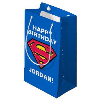 Klassisches Logo des DC-Comic-| Supermann-| Kleine Geschenktüte
