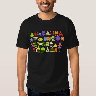 klassisches Pixel-Shirt des Arcade-8bit Shirt