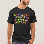 klassisches Pixel-Shirt des Arcade-8bit T-Shirt