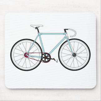 Klassisches Retro Fahrrad Mauspad