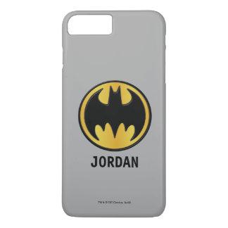 Klassisches rundes Logo Batman-Symbol-| iPhone 8 Plus/7 Plus Hülle