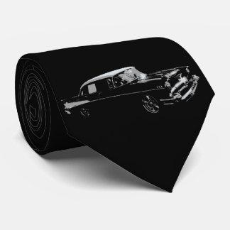 Klassisches Schwarzes Personalisierte Krawatte
